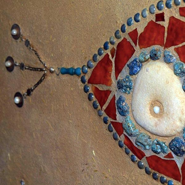 Detail wandjuweel